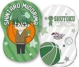 黒子のバスケ キャラポップストア ナムコ オリジナルグッズ ダイカットクッション 緑間真太郎(みどりましんたろう)