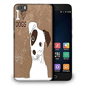 Snoogg cute jack russell terrier brilliant card for doglovers Designer Protective Back Case Cover For Samsung Galaxy J1