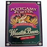 Polygamy Porter Beer Sign Why Have Just One Tin Religious Plaque