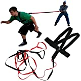 Quick Release 2 Two Person Power Resistance Speed Strength Training Harness Band