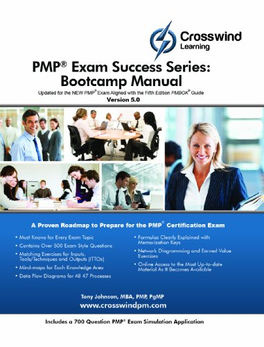 Pmp Exam Success Series: Bootcamp Manual (With Exam Sim App) front-100492