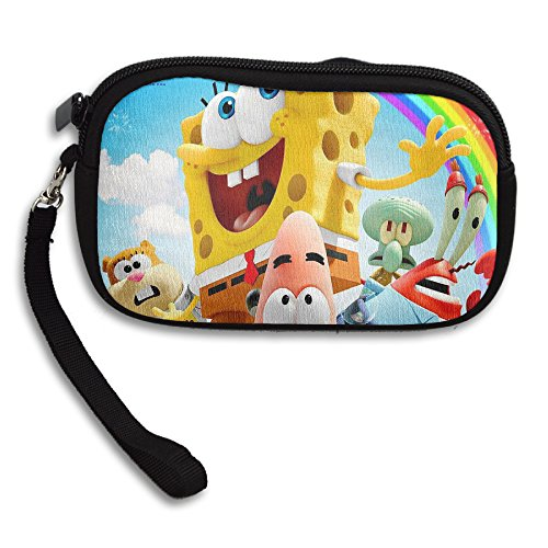 The Spongebob Sponge Out Of Water Wristlet Pouch Coin Wallet (Spongebob House Shoes compare prices)