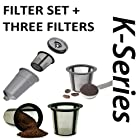 Keurig My K-Cup PLUS 3 Extra Filters For K10 K45 K55 K65 K75 Platinum Plus