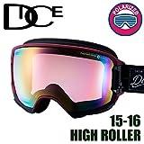 DICE ゴーグル HIGH ROLLER《16HR-15》ダイス ハイローラー[WIN]pM/PIPPd[球面/偏光レンズ]スキー スノーボード スノーゴーグル goggle