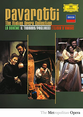 DVD : Luciano Pavarotti - Italian Opera Collection (3 Disc)