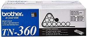 Brother TN360 High Yield Toner Cartridge - Black