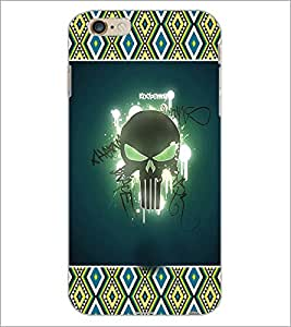 PrintDhaba Skull D-3622 Back Case Cover for APPLE IPHONE 6S (Multi-Coloured)