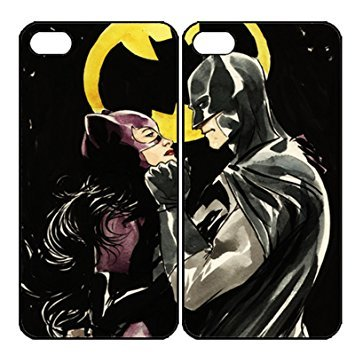 Tobe Catwoman and Batman Couple Custom Phone Case for iphone 7 at Gotham City Store