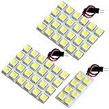 【断トツ168発!!】 MK32S スペーシア LED ルームランプ 3点セット [H25.3~] スズキ 基板タイプ 圧倒的な発光数 3chip SMD LED 仕様 室内灯 カー用品 HJO