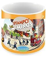 Aladine - 85132 - Tampons À Imprimer - Stampominos Pompiers
