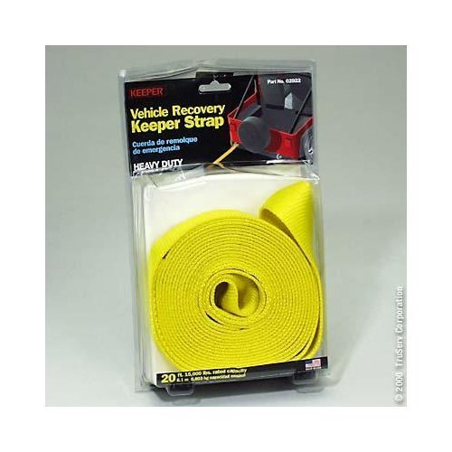 Keeper Nylon Towing Recovery Strap 20