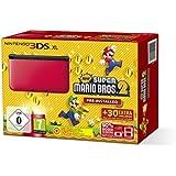 Nintendo 3DS XL - Konsole Rot inkl. New Super Mario Bros. 2