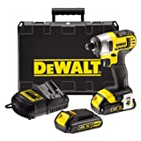 Dewalt 18V XR Lithium-Ion Impact Driver with 2 x 1.5Ah Batteries
