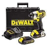 Dewalt 18V XR Lithium-Ion Impact Driver with 2 x 1.5Ah Batteries