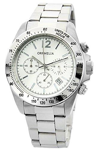 Orphelia - OR22790088 - Montre Mixte - Quartz - Chronographe - Bracelet Acier inoxydable Argent