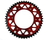 2LA RED Aluminum Rear Sprocket Honda CR CRF 125 250 450 48T RS22