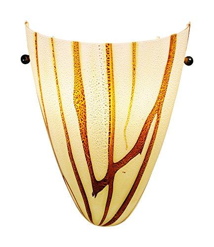 Access Lighting 23204Led-Lav Safari Led Light Wall Sconce, Lava Glass Shade