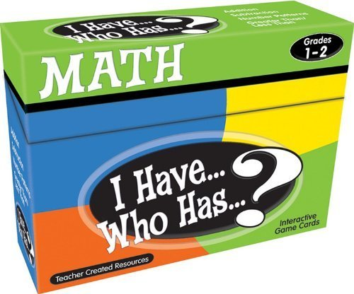 Teacher Created Resources I Have... Who Has...? Math Games Grade 1-2 (7817 - 1