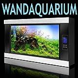"Aquawall Wandaquarium Elegance 11380 LCD Screen Silbervon ""HG-Versand"""