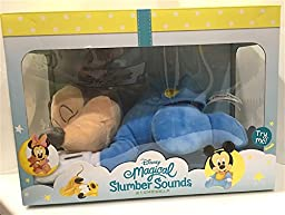 Disney Park Magical Slumber Sounds Sleeping Musical Baby Mickey Mouse Plush Doll