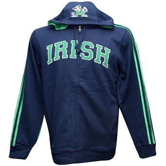 Notre Dame Fighting Irish Adidas NCAA Statement Full Zip Hoody by adidas