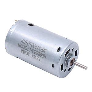 AUTOTOOLHOME Mini DC 12V Electric Hand Drill Motor PCB & Twist Drills Set 0.01-0.16 JT0 Chuck
