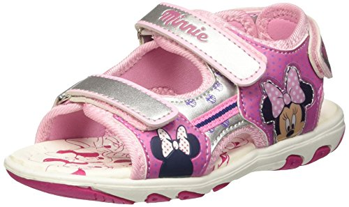 Walt Disney S15317HAZ Scarpe da neonato, Bambina, Argento (122), 25