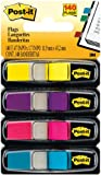 Post-it Index 6834ABP 12mm x 43.1mm Small Flags - Bright Yellow/ Bright Pink/ Bright Purple/ Bright Blue (140 Sheets)