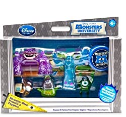 Monsters University Pencils and Pencil Toppers Set