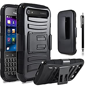 blackberry classic case combo rugged shell. Black Bedroom Furniture Sets. Home Design Ideas