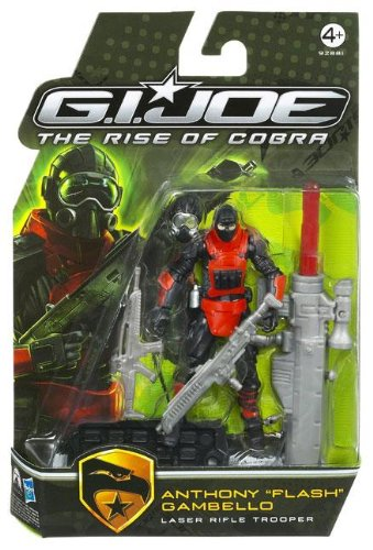"G.I. Joe The Rise of Cobra 3 3/4″ Action Figure Anthony ""Flash"" Gambello (Laser Rifle Trooper) online kaufen"