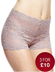 All-Over Floral Lace Full Briefs