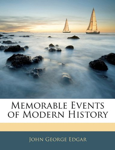 Memorable Events of Modern History