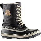 Sorel Women's 1964 Premium CVS Boot, Black/Fossil, 7 M US