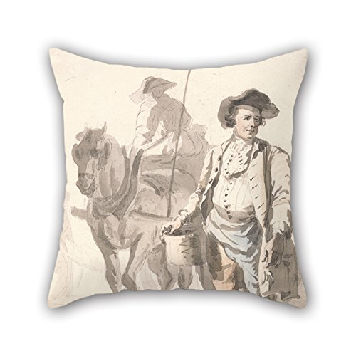 Uloveme The Oil Painting Paul Sandby - London Cries- A Tinker And His Wife Cushion Cases Of ,20 X 20