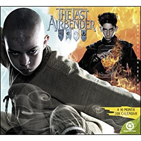 Avatar The Last Airbender 2011 Wall Calendar