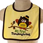 Owl Thanksgiving Bib
