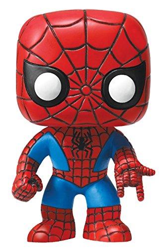 Funko-POP-Marvel-4-Inch-Vinyl-Bobble-Head-Figure-Spider-Man