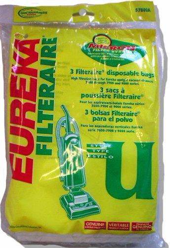 Eureka U Vacuum Bags front-23185