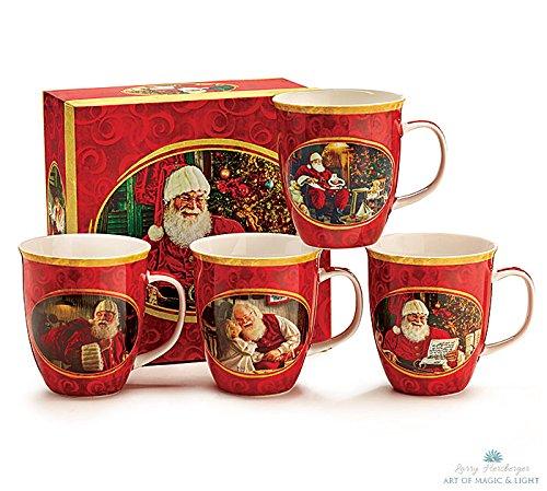 Nostalgic Santa Claus Christmas Mugs