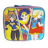 DC Super Hero Girls Kids Insulated Lunch Box Kit Bag