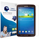 "Tech Armor Samsung Galaxy Tab 3 - 7"" High Defintion (HD) Clear Screen Protectors -- Maximum Clarity and Touchscreen Accuracy [3-Pack] Lifetime Warranty"