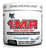 BPI Sports 1.M.R Ultra Concentrated Pre-Workout Powder, Blue Raspberry, 4.9-Ounce