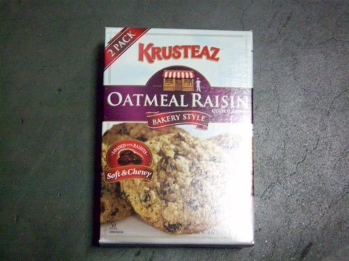 Krusteaz Oatmeal Raisin Cookie Mix (1 Box Containing a 2 Pack within Same Box)