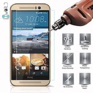 OPUS Curve 2.5D TEMPERED GLASS FOR HTC DESIRE 620G + OTG CABLE FREE + 3 IN 1 Cable Free