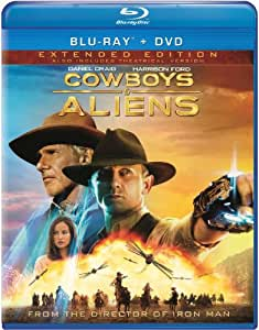 Cowboys & Aliens - Extended Edition (Blu-ray + DVD + Digital Copy + UltraViolet)