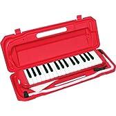 KC 鍵盤ハーモニカ (メロディーピアノ) レッド P3001-32K/RD