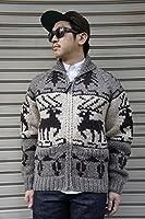 【KANATA SWEATER】 【JAPAN CUSTOM】 COWICHAN SWEATER -DEER ARAN BROWN- 【JAPAN CUSTOM】 COWICHAN SWEATER -DEER ARAN BROWN- カナタ セーター 別注 カウチンセーター ディア ベージュ ブラウン