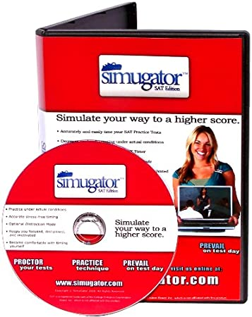 SimuGator: SAT Proctor DVD (Test-Day Simulation for SAT Practice Tests)