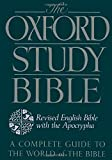 The Oxford Study Bible: Revised English Bible with the Apocrypha